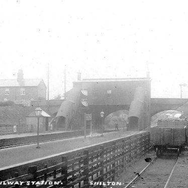 Shilton.  Railway Station