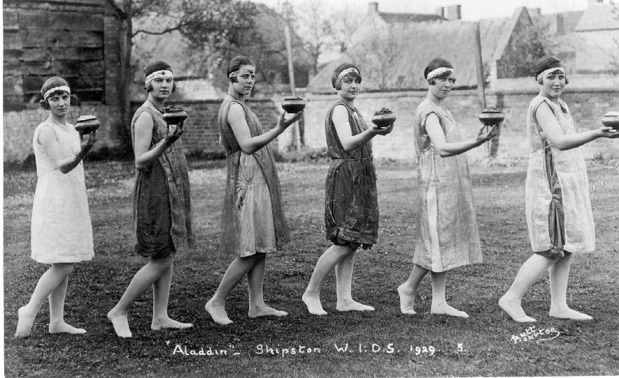 Members of  Women's Institute Dramatic Society in cast of