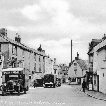 Shipston on Stour.  Market Place