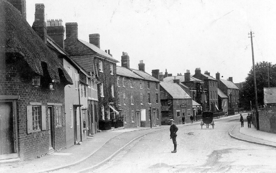 Church Street, Shipston on Stour.  1900s |  IMAGE LOCATION: (Warwickshire County Record Office)