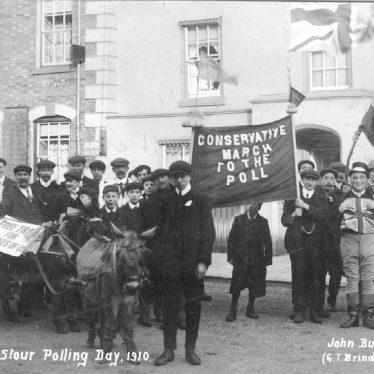 Shipston on Stour.  Polling day