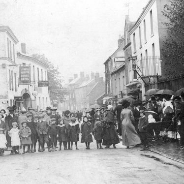 Shipston on Stour.  Group of children