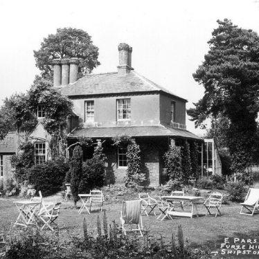 Shipston on Stour.  Furze Hill Tea Gardens