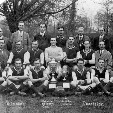 Shipston on Stour.  Football team