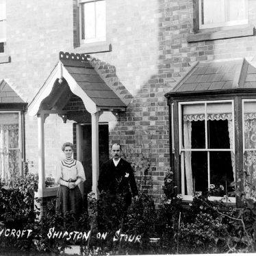 Shipston on Stour.  Sunnycroft