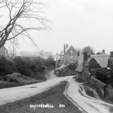 Shotteswell.  Village street