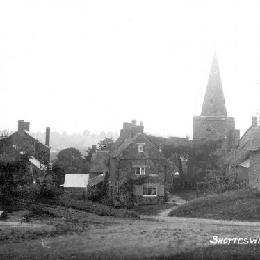 Shotteswell.  Village view