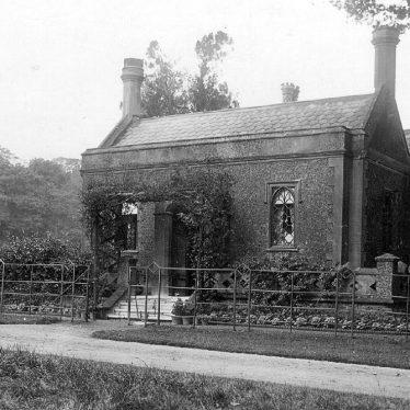 Shuckburgh Park.  Hall Lodge