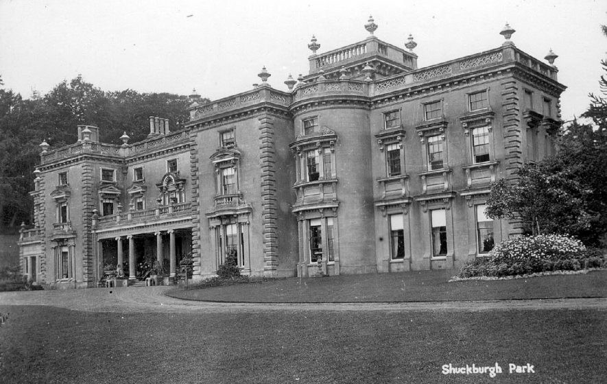 Shuckburgh Park.  1900s |  IMAGE LOCATION: (Warwickshire Museum Sites and Monuments Record)