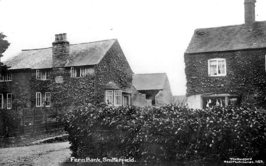 Fern Bank,  Snitterfield.  1910 |  IMAGE LOCATION: (Warwickshire County Record Office)