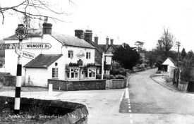 Smiths Lane,  Snitterfield.  1960s |  IMAGE LOCATION: (Warwickshire County Record Office)