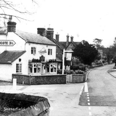 Snitterfield.  Smiths Lane