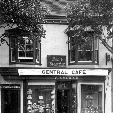 Stratford upon Avon.  Central Cafe