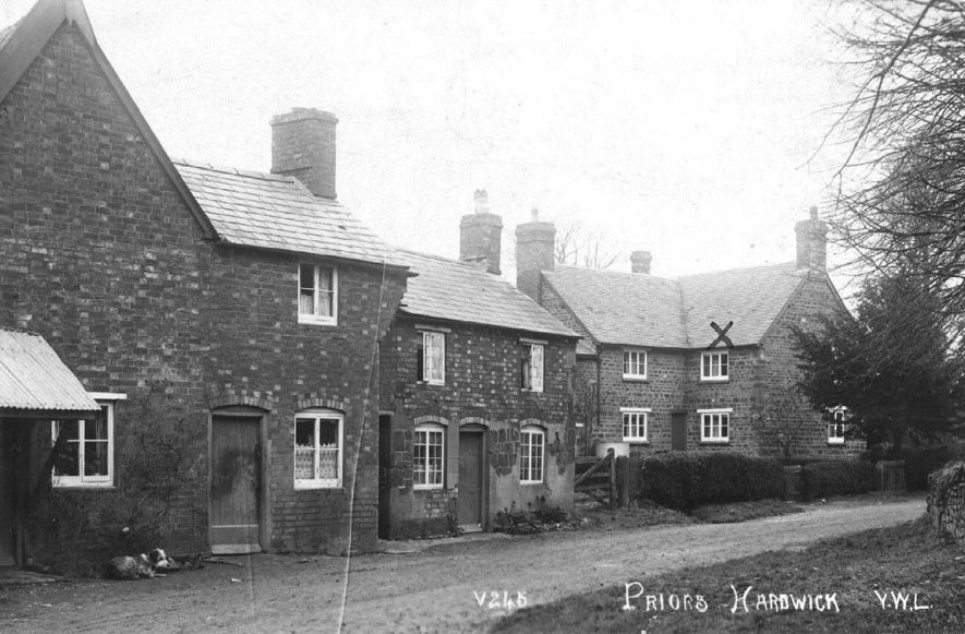 Priors Hardwick.  1920s |  IMAGE LOCATION: (Warwickshire County Record Office)