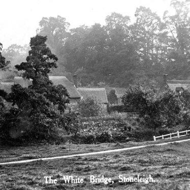 Stoneleigh.  White Bridge