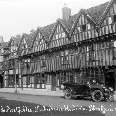 Stratford upon Avon.  Shakespeare Hotel