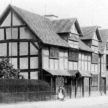 Stratford upon Avon.  Shakespeare's birthplace