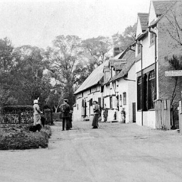 Shottery.  Village street