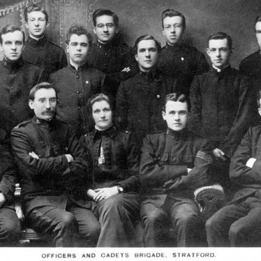 Stratford upon Avon.  Salvation Army officers