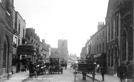 View of Chapel Street, Stratford upon Avon.  1910s |  IMAGE LOCATION: (Warwickshire County Record Office)