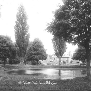 Long Itchington.  Village pond