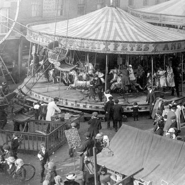 Stratford upon Avon.  Mop Fair