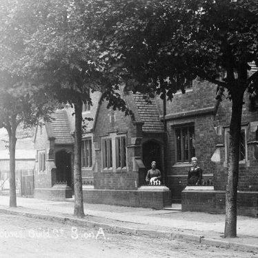 Stratford upon Avon.  Guild Street almshouses