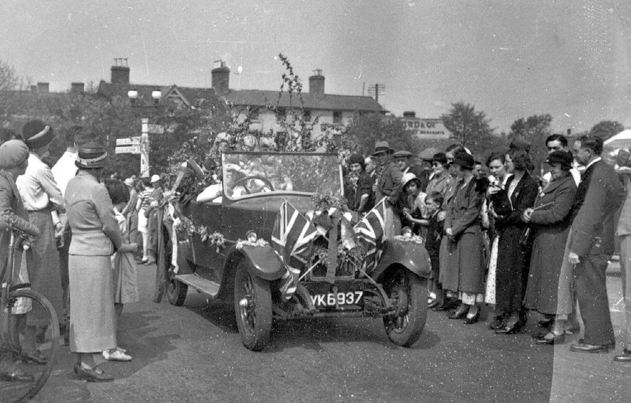 Celebration of King George's Jubilee, Stratford upon Avon.  1935. |  IMAGE LOCATION: (Warwickshire County Record Office)