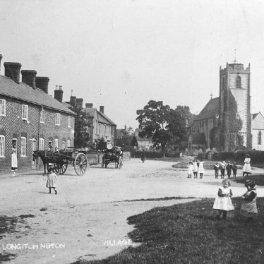 Long Itchington.  Church Street