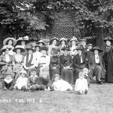 Stratford upon Avon.  St James tea