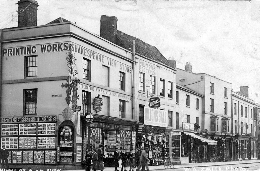 High Street, Stratford upon Avon.  1900s |  IMAGE LOCATION: (Warwickshire County Record Office)