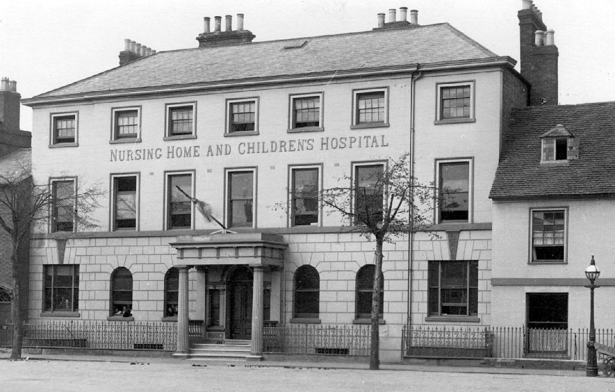 Nursing Home & Children's Hospital, Rother Street, Stratford upon Avon.  1900s |  IMAGE LOCATION: (Warwickshire County Record Office)