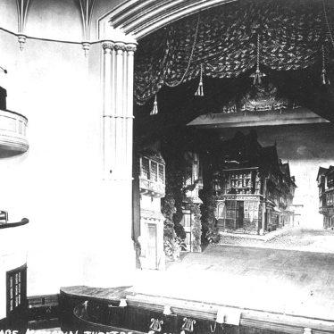 Stratford upon Avon.  Memorial Theatre, stage