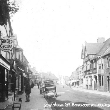 Stratford upon Avon.  Wood Street