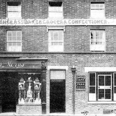 Stratford upon Avon.  Henley Street, Morris bakers shop