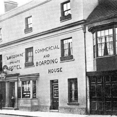Stratford upon Avon.  Wood Street, Lansdowne Hotel