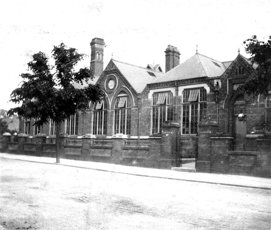 The schools, Stratford upon Avon.  1900s |  IMAGE LOCATION: (Warwickshire County Record Office)