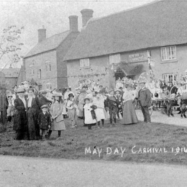 Long Itchington.  May Day