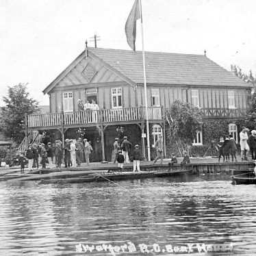 Stratford upon Avon.  Boat house