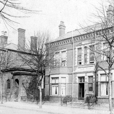 Stratford upon Avon.  Guild Street, police station