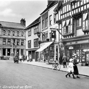 Stratford upon Avon.  High Street