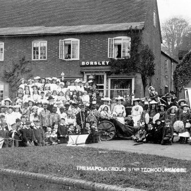 Stretton on Dunsmore.  Maypole group