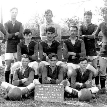Stretton on Dunsmore.  Football team