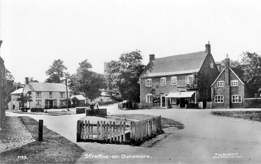 Village view of Stretton on Dunsmore.  1910s |  IMAGE LOCATION: (Warwickshire County Record Office)