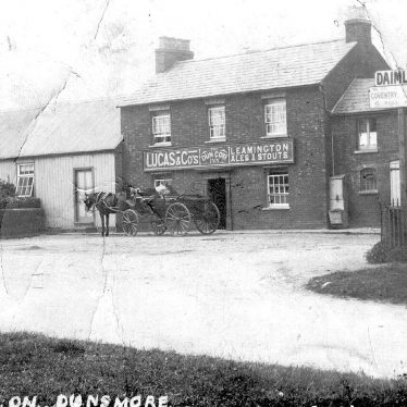 Stretton on Dunsmore.  Dun Cow Inn