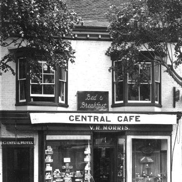 Stratford upon Avon.  Central Cafe