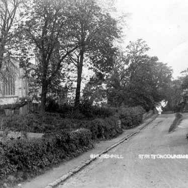 Stretton on Dunsmore.  Church Hill