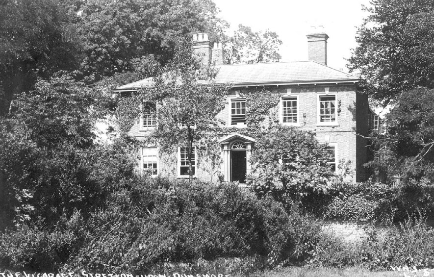The Vicarage, Stretton on Dunsmore.  1905 |  IMAGE LOCATION: (Warwickshire County Record Office)
