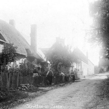 Stretton on Fosse.  Village view