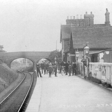 Studley.  Railway Station